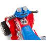 Kidstrax 670z 6 Voltios Atv, Rojo/azul