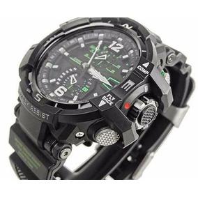 Relógio Casio G-shock Gravitymaster Gw-a1100-1a3 Lata Manual