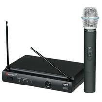 Microfone S/ Fio Karsect Kru301 Punho Na Cheiro De Música !!
