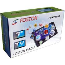 Novo Tablet Foston Com Tv Analogica Em 12 X S/ Juros