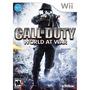 Videojuego Wii Call Of Duty World At War