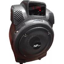 Cajon Amplificador 2000 Watts Reales - Recargable 110v Y 12v