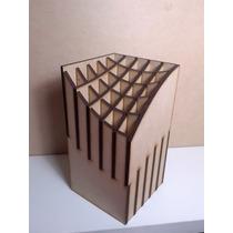 Porta Lapices Encastrable En Mdf Fibrofacil