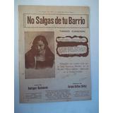 No Salgas Del Barrio Quiero Mujer Desnuda Partituras Tango75