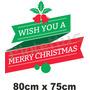 Carteles Ploteados Navidad 2014 Vidriera Vinilo Fiestas