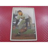 Cv Rara Antigua Alfonzo Chico Carrasquel 1953 Bowman Color