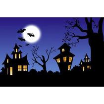 Painel Decorativo Festa Infantil Halloween Dia Bruxas (mod1)