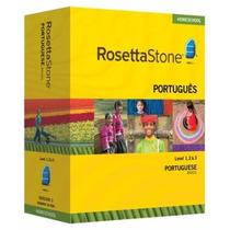 Rosetta Stone Portuguese Level 1 2 E 3 Version 3