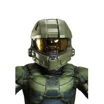 Casco Para Disfraz Niño Halo Master Chief Licencia Halo