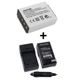 Kit Bateria Np-85+carregador P/fuji Sl300 Sl305 Frete Gratis