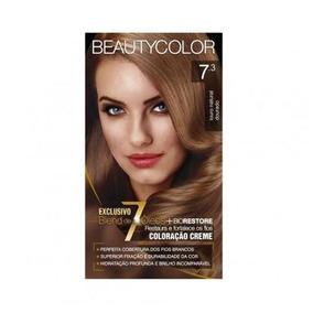 Tintura Beauty Color Kit 7.4 Louro Natural Acobreado