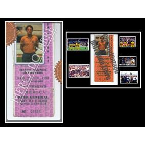 Boleto Pumas Vs América 1990 Final Usado Llevadoal Estadi O