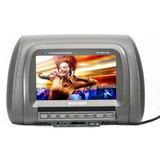 Encosto Cabeça P/ Dvd Tela Lcd 7 C/ Usb, Cartão E Controle