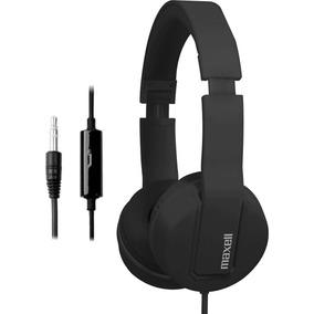 Auricular Maxwell Negro Con Microfono Y Conector 3.5mm