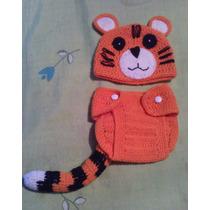 Disfraz Tigre Crochet