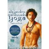 Pack 4 Dvd + 3 Cd Yoga Coleccion De Alejandro Maldonado