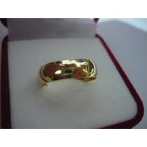 Top Elite 2 Aliança 6m 4 Grs Ouro 18k750 Rose Ou Amarelo