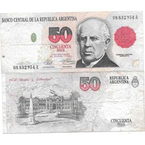 Billete 50 Pesos Convertibles Primer Diseño A Muy Buena-