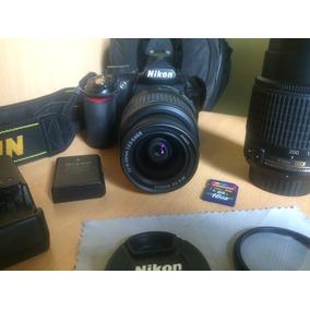 Nikon D3100 Equipo Completo