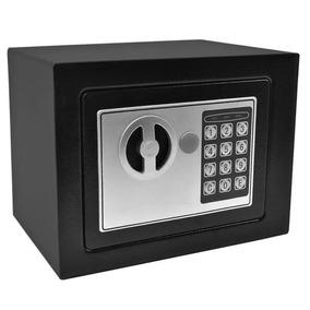 Cofre Eletrônico Teclado Com Senha + Chave Sos Modelo Osd170