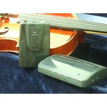 Transmissor + Captador Cavaquinho Trompete Violão Violino
