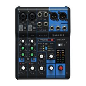 Mesa De Som Yamaha Mg06x | Efeitos | Original | Nfe
