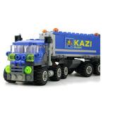 Novo Camião Azul Com Blocos De Montar - Brinquedo Ideal