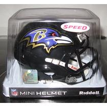 Nfl Baltimore Ravens Mini Casco Modelo Speed By Riddell