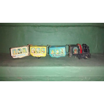 Trenes De Hojalata Antiguos Halcon Vispa, Disney, Ital Toys.