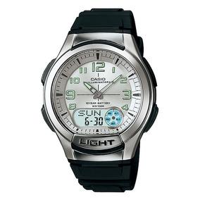 Relógio Casio Aq-180w-7bvdf Digital Análogo Mundial