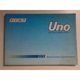 Libro Manual 100% Original De Usuario: Fiat Uno, Año 1996/97