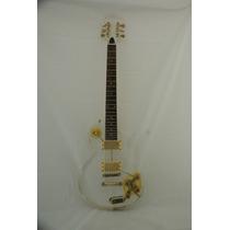 Guitarra Art Pro Mod. Lp Em Acrílico - Saldo Grupomuraro