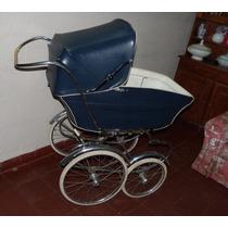 Cochecito Para Bebe Cuna Y Paseo Antiguo Muy Buen Estado