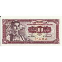 Yugosavia 100 Dinara 1955 P69 S/c