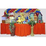 Decoração Festa Infantil Vila Sésamo (locação)