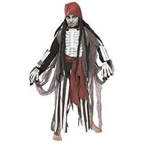 Disfraz Para Niños Scary Kids Ghostship Traje De Pirata - M