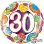 Globo Cumpleaños # 30 18 Pulgadas Qualatex