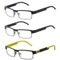 Armação Para Oculos De Grau Mormaii Mo1675 Fibra De Carbono