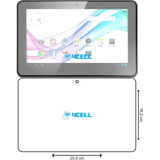 Película Tablet Multilaser M10 10.1 Nb053 Transparente