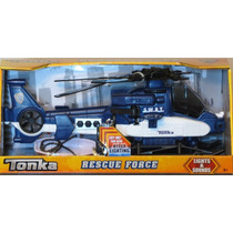 Tonka Rescue Force S.w.a.t. Helicopter Lights And Sound