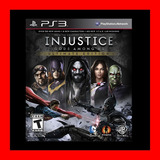 Injustice: Gods Among Us Ultimate Edition Ps3 No Disco !!!