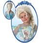 Peluca Elsa O Anna Frozen Con Trenza Disfraz Disney Rubies