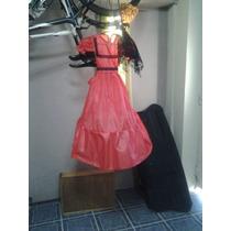 Disfraz De Dama Antigua Completo Tafeta