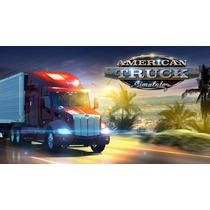 American Truck Simulator Steam Pc + Dlc Usa, México Y Canada