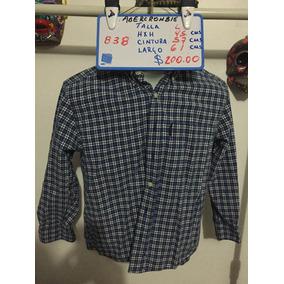 Camisa Abercrombie T- L Id 838 No S ® Oferta 2 X 1