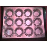 Bandeja Para Ponques O Cupcakes 12 Hoyos Alum-ware 4771 Xavi