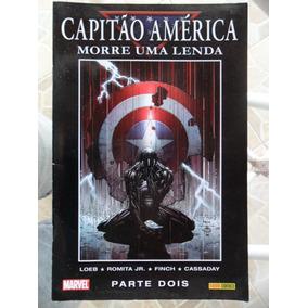 Capitão América - Morre Uma Lenda #2 - Abr/2008