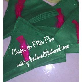 Chapéus Do Peter Pan Para Brindes (10 Unidades