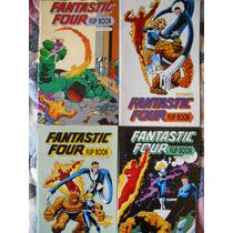 4 Fantásticos Flipbook No.0,i-iv Fantastic Four Marvel Comic