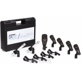 Set De Microfonos Bateria Samson Dk707 7 Microfonos + Clamp+